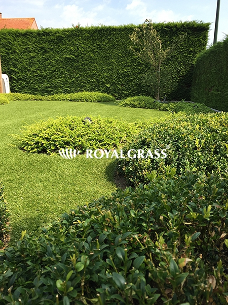 Project: Kunstgras te Eeklo met Royal Grass Sense