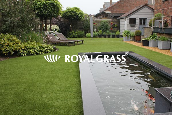 Project: Royal Grass kunstgras Velvet te Londerzeel
