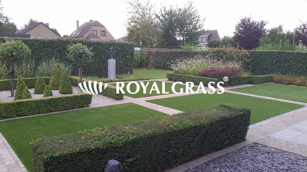 Project: Achtertuin met Royal Grass Silk 35 te Machelen